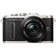 Olympus PEN E-PL8 - fekete + 14-42 mm EZ ED palacsinta lencse - fekete + Olympus kezdőkészlet - Digitális fényképezőgép
