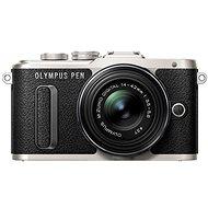 Olympus PEN E-PL8 fekete + ED 14-42 II R fekete lencse - Digitális fényképezőgép