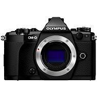 Olympus E-M5 Mark II test fekete - Digitális fényképezőgép