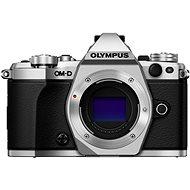 Olympus E-M5 Mark II BODY + 14-42 mm objektív EZ ezüst / fekete - Digitális fényképezőgép