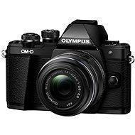Olympus E-M10 Mark II black/black + 14-42 mm II R - Digitális fényképezőgép
