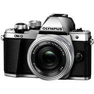 Olympus E-M10 Mark II silver/silver + ED 14-42mm EZ - Digitális fényképezőgép