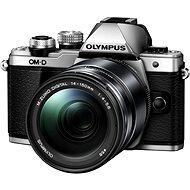 Olympus E-M10 Mark II ezüst / fekete + 14-150 ED II - Digitális fényképezőgép