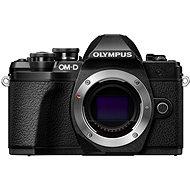 Olympus E-M10 Mark III fekete váz - Digitális fényképezőgép