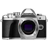Olympus E-M10 Mark III ezüst váz - Digitális fényképezőgép