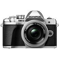 Olympus E-M10 Mark III ezüst/ezüst + 14-42mm II R - Digitális fényképezőgép