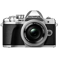 Olympus E-M10 Mark III ezüst/ezüst + ED 14-42mm EZ - Digitális fényképezőgép