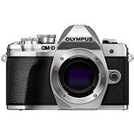 Olympus E-M10 Mark III ezüst + 14-42 II R ezüst + 40-150mm R ezüst - Digitális fényképezőgép