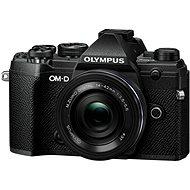 Olympus OM-D E-M5 Mark III + 14-42mm EZ fekete színű - Digitális fényképezőgép