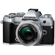 Olympus OM-D E-M5 Mark III + 14-42 mm EZ ezüst színű - Digitális fényképezőgép