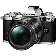 Olympus OM-D E-M5 Mark III + 14-150 mm II ezüst színű - Digitális fényképezőgép