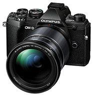 Olympus OM-D E-M5 Mark III + 12-200 mm fekete színű - Digitális fényképezőgép