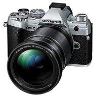 Olympus OM-D E-M5 Mark III + 12-200 mm ezüst színű - Digitális fényképezőgép