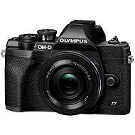 Olympus OM-D E-M10 Mark IV + 14-42 mm EZ fekete - Digitális fényképezőgép