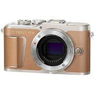 Olympus PEN E-PL9 barna burkolat - Digitális fényképezőgép