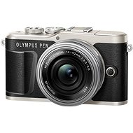 Olympus PEN E-PL9 fekete + M.Zuiko 14-42mm - Digitális fényképezőgép