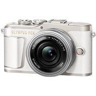 Olympus PEN E-PL9 fehér + M.Zuiko 14-42mm - Digitális fényképezőgép