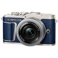 Olympus PEN E-PL9 kék + M.Zuiko Pancake 14-42mm + Travel kit - Digitális fényképezőgép