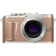Olympus PEN E-PL10, barna színű - Digitális fényképezőgép