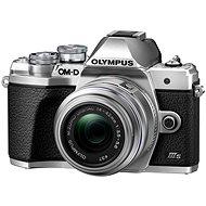 Olympus OM-D E-M10 Mark III S + 14-42mm II R ezüst - Digitális fényképezőgép