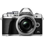 Olympus OM-D E-M10 Mark III S + 14-42mm EZ ezüst - Digitális fényképezőgép