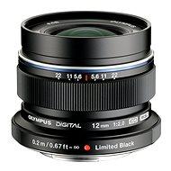 M.ZUIKO DIGITAL ED 12 mm 1: 2.0 fekete - Objektív
