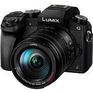 Panasonic LUMIX DMC-G7 Digitális fényképezőgép  + fekete lencse - Digitális fényképezőgép