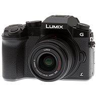 Panasonic LUMIX DMC-G7 fekete Digitális fényképezőgép + LUMIX G VARIO 14-42 mm (F3.5-5.6) objektív - Digitális fényképezőgép