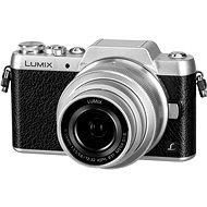 Panasonic LUMIX DMC-GF7 ezüst + 12-32mm objektív - Digitális fényképezőgép