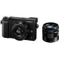 Panasonic LUMIX DMC-GX80 fekete + 12-32 mm objektív + 35-100 mm objektív - Digitális fényképezőgép