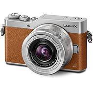 Panasonic LUMIX DMC-GX800 Barna váz+ objektív 12-32 mm - Digitális fényképezőgép
