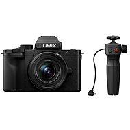 Panasonic LUMIX G100 + 12-32 mm lencse + DMW-SHGR1 állvány - Digitális fényképezőgép