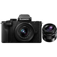 Panasonic LUMIX G100 + objektív 12-32mm + objektív 35-100mm - Digitális fényképezőgép