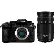 Panasonic LUMIX DC-G90 váz, fekete + Panasonic Lumix G Vario 100-300mm f/4.0-5.6 Power O.I.S - Digitális fényképezőgép