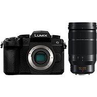 Panasonic LUMIX DC-G90 váz, fekete + Panasonic Leica DG Elmarit 50-200mm f/2.8-4.0 Power O.I.S - Digitális fényképezőgép