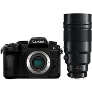 Panasonic LUMIX DC-G90 váz, fekete + Panasonic Leica DG Elmarit 200mm f/2.8 Power O.I.S + Telekonverter - Digitális fényképezőgép