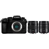 Panasonic LUMIX DC-G90 + Lumix G Vario 14-140mm, fekete + Panasonic Lumix G X 12-35mm f/2.8 II Power O - Digitális fényképezőgép