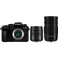 Panasonic LUMIX DC-G90 + Lumix G Vario 14-140mm, fekete + Panasonic Lumix G Vario 100-300mm f/4.0-5.6 - Digitális fényképezőgép