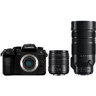 Panasonic LUMIX DC-G90 + Lumix G Vario 14-140mm, fekete + Panasonic Leica DG Vario-Elmar 100-400mm f/4 - Digitális fényképezőgép