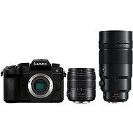 Panasonic LUMIX DC-G90 + Lumix G Vario 14-140mm, fekete + Panasonic Leica DG Elmarit 200mm f/2.8 Power - Digitális fényképezőgép