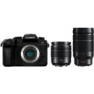 Panasonic LUMIX DC-G90 + Lumix G Vario 12-60mm, fekete + Panasonic Leica DG Elmarit 50-200mm f/2.8-4.0 - Digitális fényképezőgép