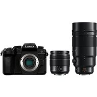 Panasonic LUMIX DC-G90 + Lumix G Vario 12-60mm, fekete + Panasonic Leica DG Elmarit 200mm f/2.8 Power - Digitális fényképezőgép