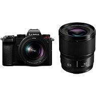 Panasonic Lumix DC-S5 + 20-60mm + Lumix S 50mm f/1.8 - Digitális fényképezőgép