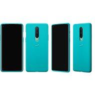 OnePlus 8 Sandstone Bumper Case (Cyan) - Mobiltelefon hátlap