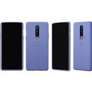 OnePlus 8 Sandstone Bumper Case (Smoky Purple) - Mobiltelefon hátlap
