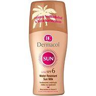 DERMACOL Sun Water Resistant Sun Milk SPF 6 200 ml - Napozó spray
