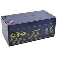 Long 12V 3Ah ólomakkumulátor F1 (WP3-12) - Akkumulátor