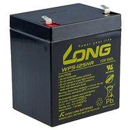Long 12V 5Ah ólomakkumulátor HighRate F1 (WP5-12SHR F1)