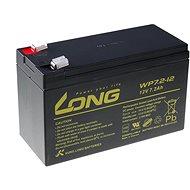 Long 12V 7.2Ah ólomakkumulátor F2 (WP7.2-12 F2) - Akkumulátor