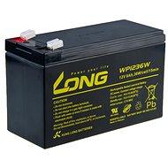 Long 12V 9Ah ólom-savas akkumulátor HighRate F2 (WP1236W) - Akkumulátor